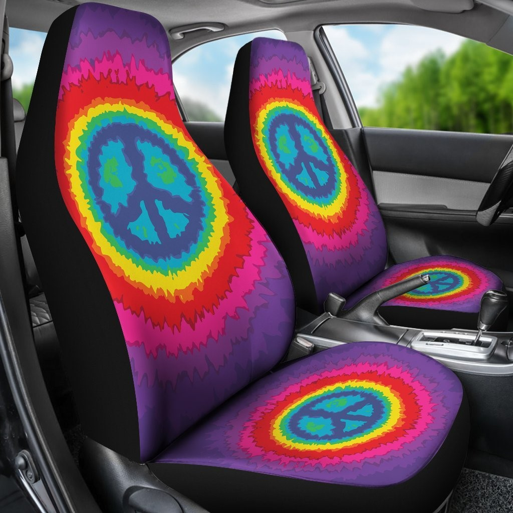 Ride In Style And Protect Your Seats With Some Great Hippie Seat Covers