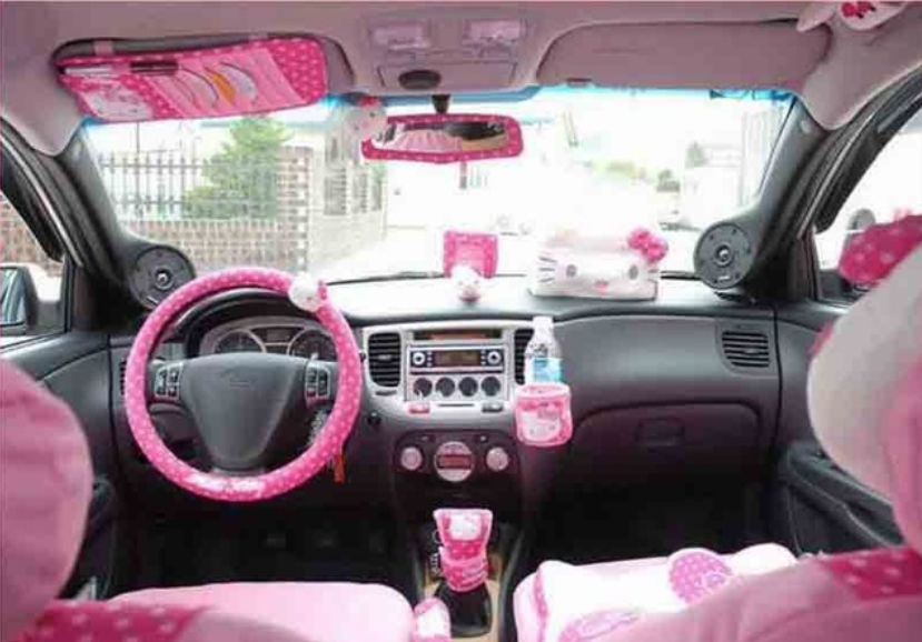 Buyers Guide Pink Car Accessories Ultimate Rides
